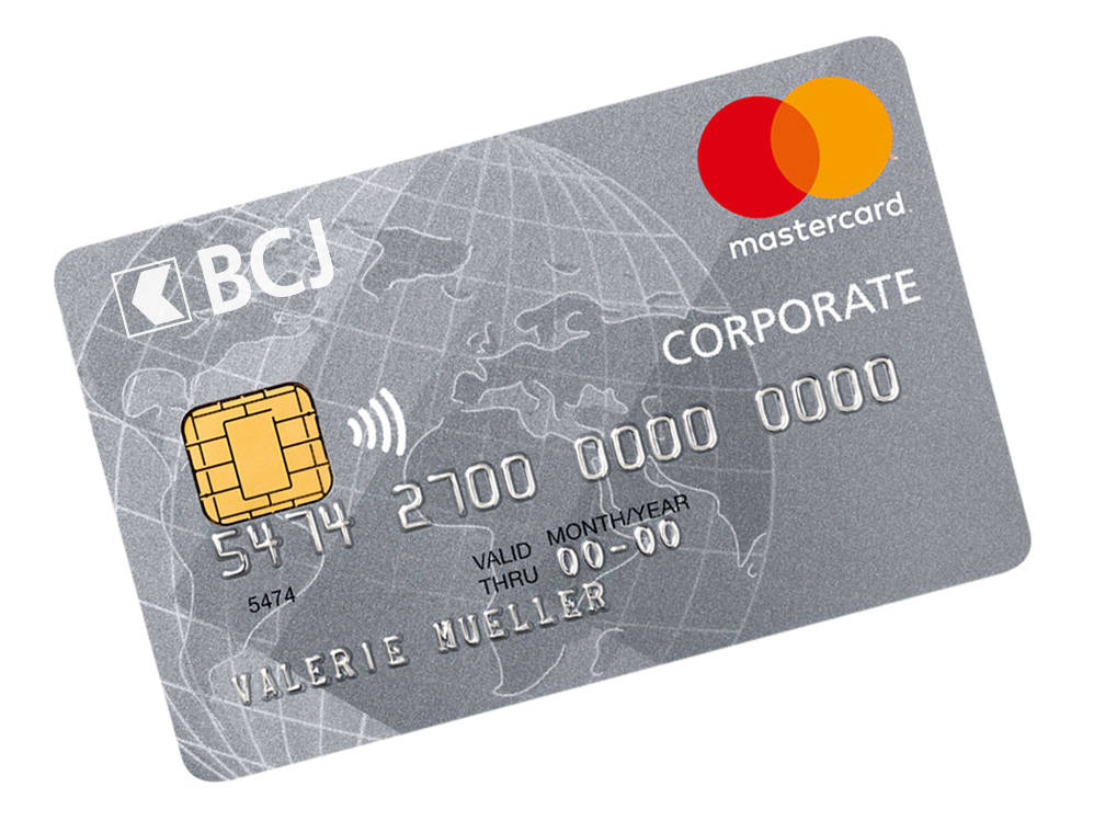 Carte Entreprise Corporate BCJ
